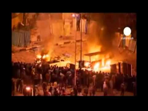 Ghost - Fourth Horseman Of The Apocalypse MSNBC - Egyptian Riots Original Full Video