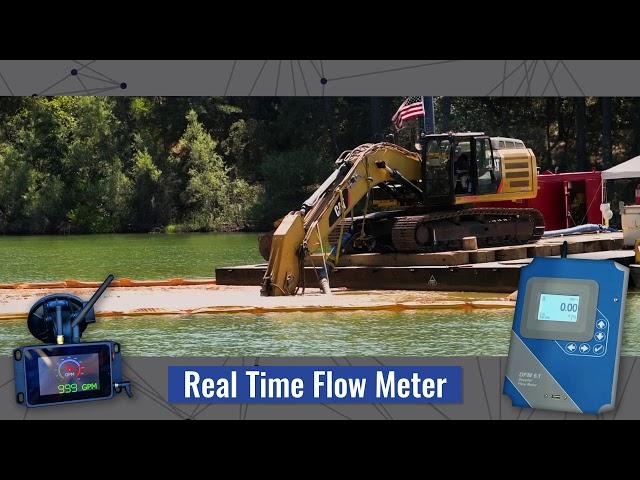 Medidor de flujo en tiempo real: cómo usarlo para aplicaciones de dragado o lechada