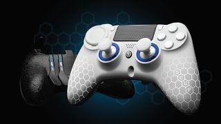 SCUF IMPACT PS4/PC CONTROLLER REVIEW! (Destiny Gameplay and  Configuration) Their Best Controller!