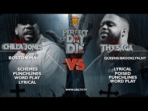 CHILLA JONES VS TH3 SAGA SMACK/ URL RAP BATTLE