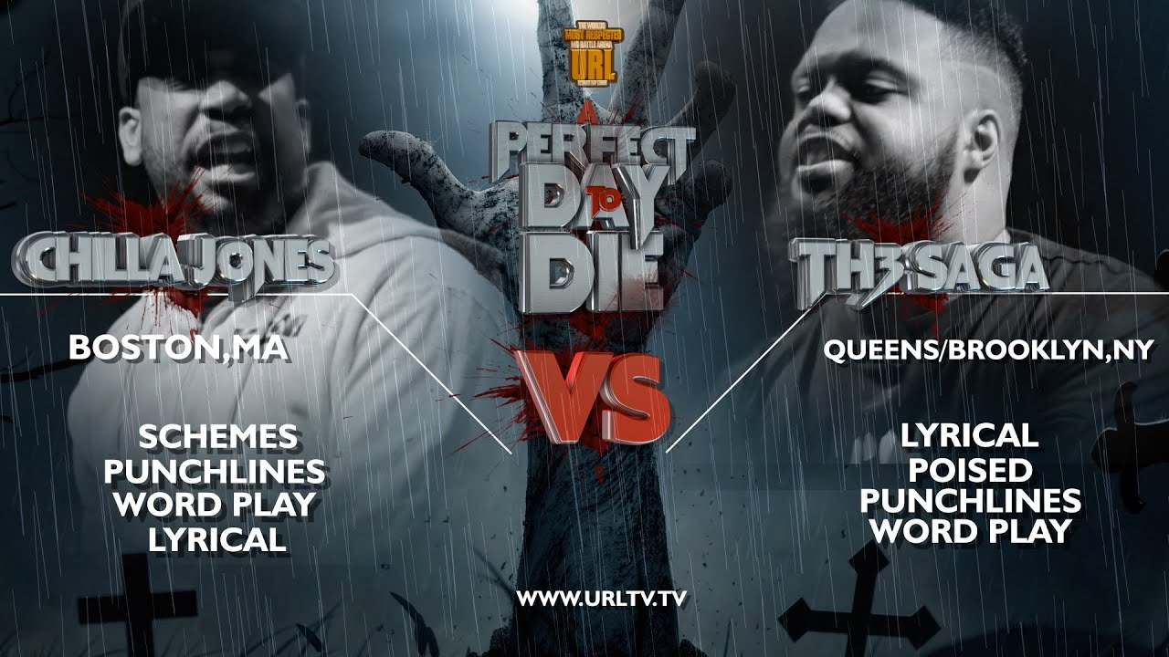 SMACK / URL RAP BATTLE: Chilla Jones vs. Th3 Saga