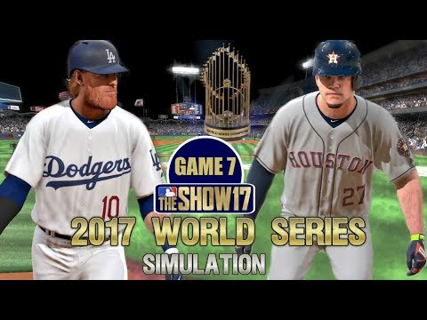 MLB The Show 17 | 2017 World Series Game 7 Dodgers Vs Astros Simulation