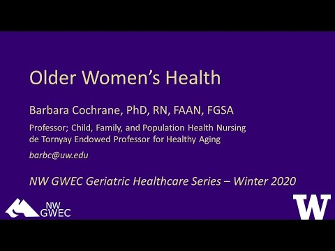 Older Women's Health