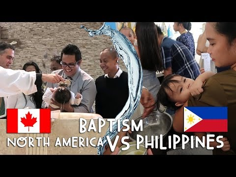 BAPTISMS: North America VS Philippines | Vlog #261