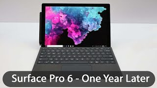 Surface Pro 6 Review: One Year Later