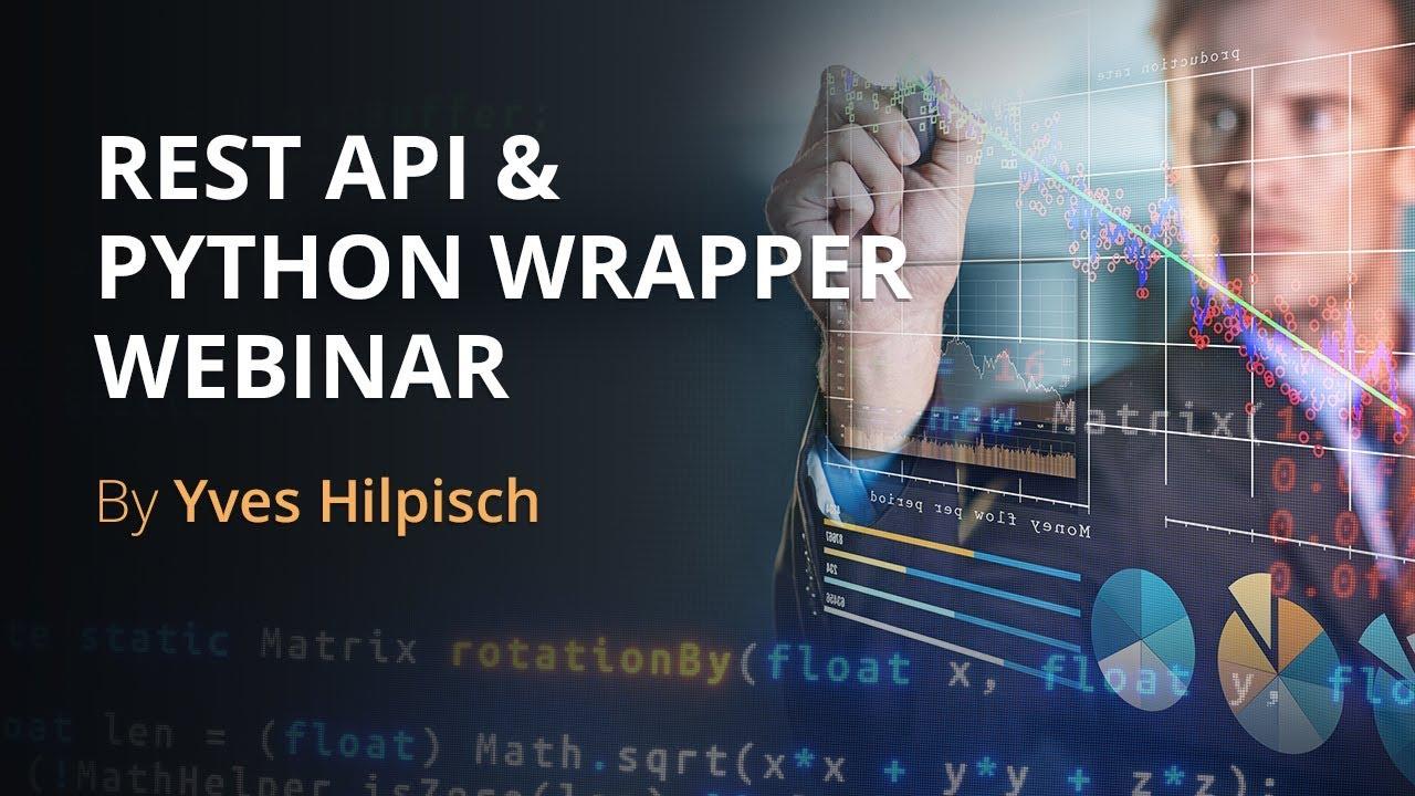Algo Trading: Rest API & Python Wrapper