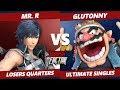 SF8 SSBU - SLY   Glutonny (Wario) Vs. BC   Mr. R (Snake, Chrom) Smash Ultimate Tournament L Quarters