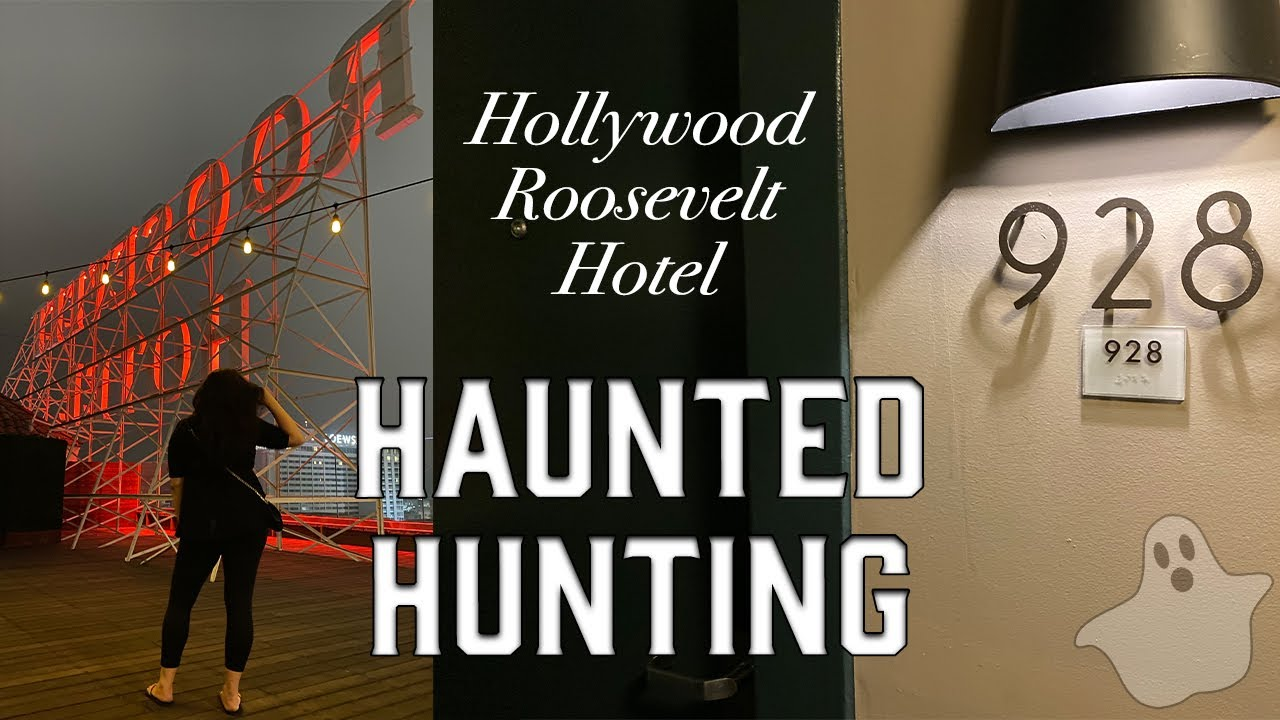 Download HAUNTED HUNTING IN ROOM 928! (Hollywood Roosevelt Hotel)