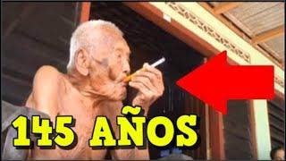 El hombre más viejo del mundo tiene 145 años y vive en Indonesia