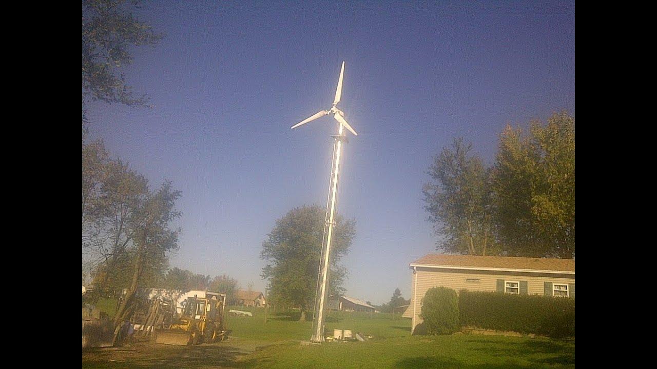 5 KW Wind turbine repair in Pa