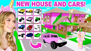 *NEW* HOUSE AND 12 NEW CARS UPDATE IN BROOKHAVEN! (ROBLOX)