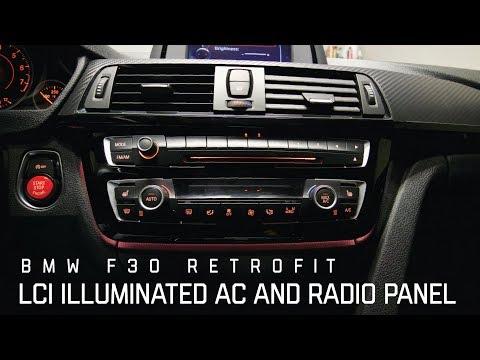 LCI LED AC RADIO PANEL RETROFIT (BMW F30)