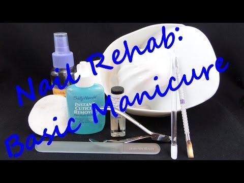 Nail Rehab Week 3: Basic Manicure