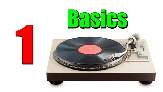 RECORD PLAYERS: Basic Parts