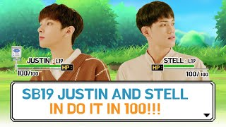 SB19 Justin and Stell in Do It In 100 [Aja Aja Tayo S2] [EP-2]