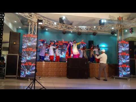 7 star bhangra group ( mele vich pen boliya )