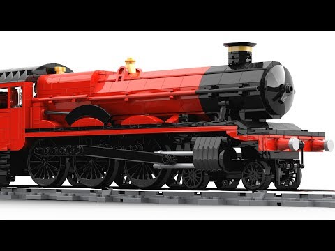 Lego Hogwarts Express Motorized 2018 Moc Rebuild Zanthera Video