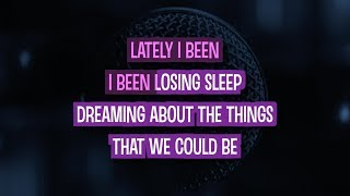 Counting Stars Karaoke Version by One Republic (Video with Lyrics)