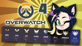 Overwatch: Competitive Placements - PART 4 - Kitty Kat Gaming