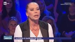 """Barbara De Rossi: """"Mi sono messa in gioco tante volte"""" - La Vita in Diretta 04/01/2018"""