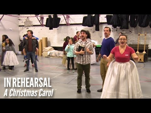 A Christmas Carol Milwaukee.Behind The Scenes Of A Christmas Carol Milwaukee Rep