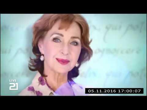 Christine Kaufmann bei Channel21 am 05.11.2016 - Teil 3