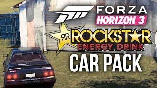 forza horizon 3 legendary barn find bmw i8 r31 rockstar energy car pack