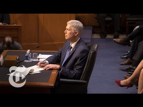 Gorsuch Hearings, Day 2 | The New York Times