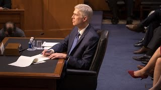 Watch Live: Gorsuch Hearings, Day 2