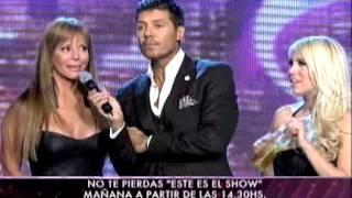Showmatch 2011 - Pachano y Wanda le responden a Alfano