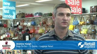 Bags to go - multi-store retailer & their pos software