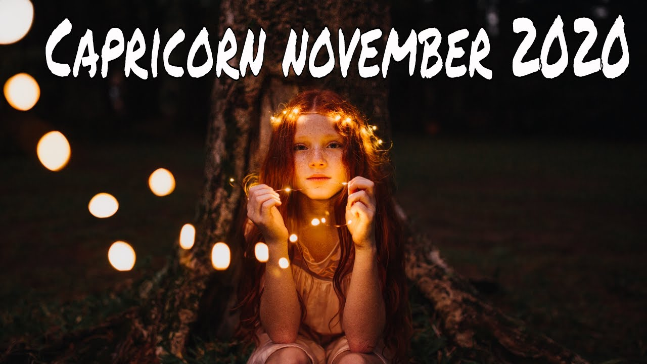 Capricorn ~ Getting Past What You'll Never Get Over ~ Intuitive Tarot Reading, November 2020
