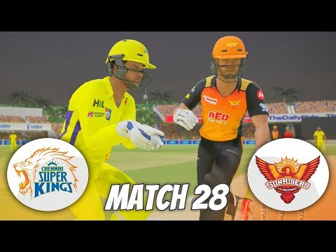 INDIAN PREMIER LEAGUE 3rd EDITION GAMING SERIES -MATCH 28-CHENNAI SUPER KINGS v  SUNRISERS HYDERABAD