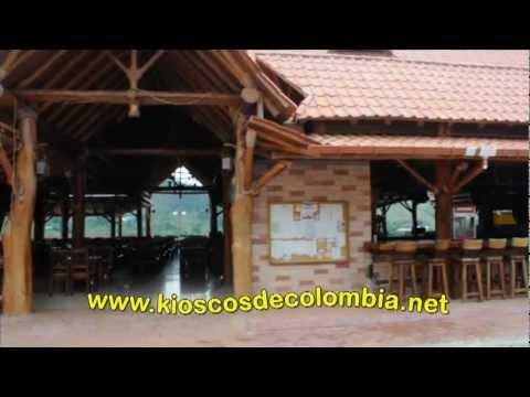 Kioscos de colombia 7 youtube for Kioscos prefabricados de madera