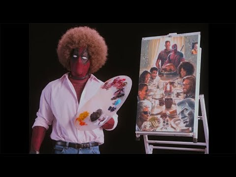 The bob ross 39 deadpool 2 39 trailer and marketing the pull for Dead pool show in jaipur