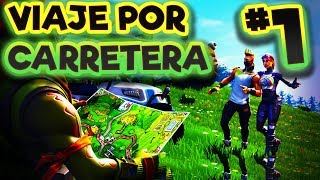 Viaje Por Carretera 1 - Fortnite Desafíos Semana 1 Temporada 5 - Estrella Oculta