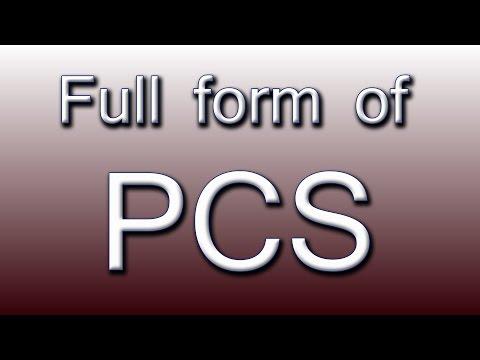 Full form of PCS