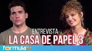 La Casa de Papel: Jaime Lorente y Esther Acebo analizan la Temporada 3