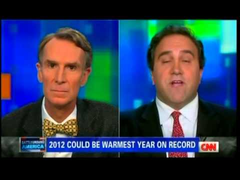 Climate Realist Marc Morano Debates Bill Nye the Science Guy on Global Warming