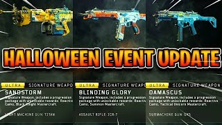 NEW HALLOWEEN EVENT! / DOUBLE XP, NEW VARIANTS + MORE / BEST CLASS SETUPS + PRO TIPS / COD BO4 LIVE