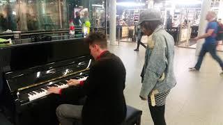 "Thomas Krüger & Rosalind James live @London St. Pancras Station – ""If I ain"