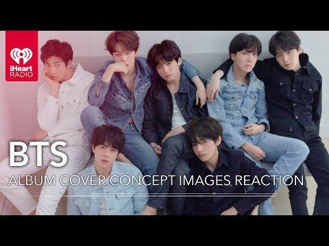 BTS New Album Cover Art Concept Images Reaction