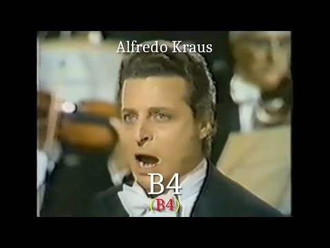 Opera Singers - The Tenor High B (B4) - High Notes Battle