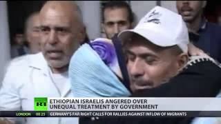 RT - Ethiopian Israelis' Anger And Pain At Second Class Status