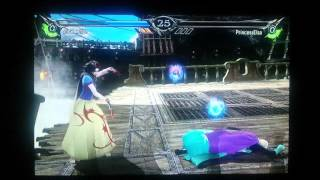 Soul Calibur V princess showdown thumbnail