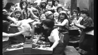 Jeanie Macpherson / Geraldine Farrar Fight Scene: Carmen 1915