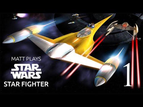 Matt Plays Star Wars Starfighter Part 1 |