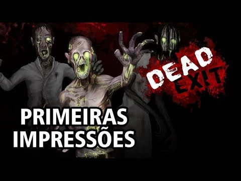 Dead Exit (Card Game) - Gameplay de Primeiras Impressões