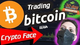 🚀 30 DAY BITCOIN TRADING CHALLENGE WITH CRYPTO FACE SIGNALS - INSANE HIT RATE!!