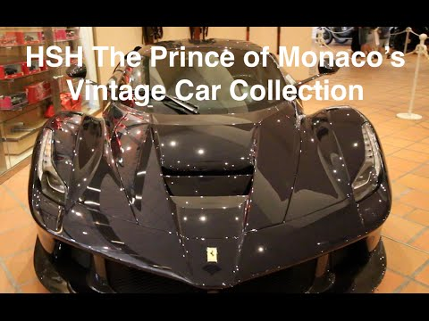HSH The Prince of Monaco's Vintage Car Collection